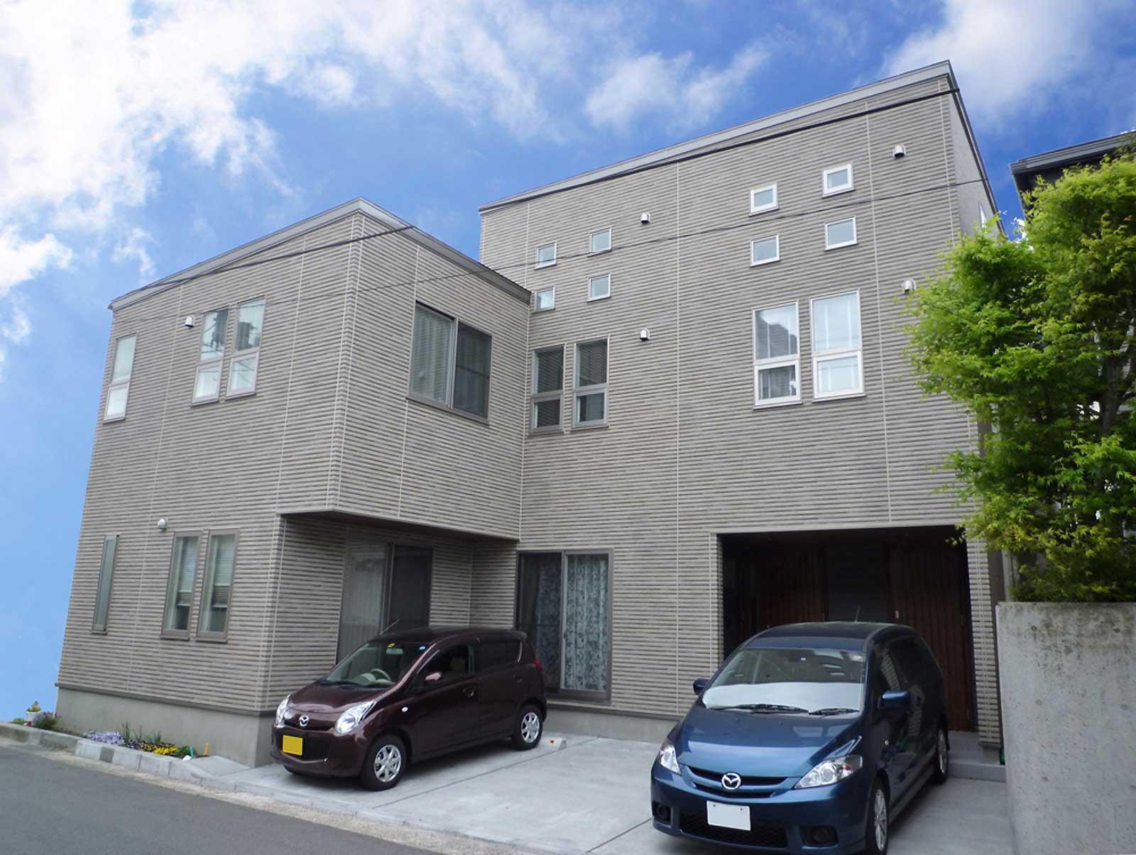 新潟市中央区H様邸 住宅外観