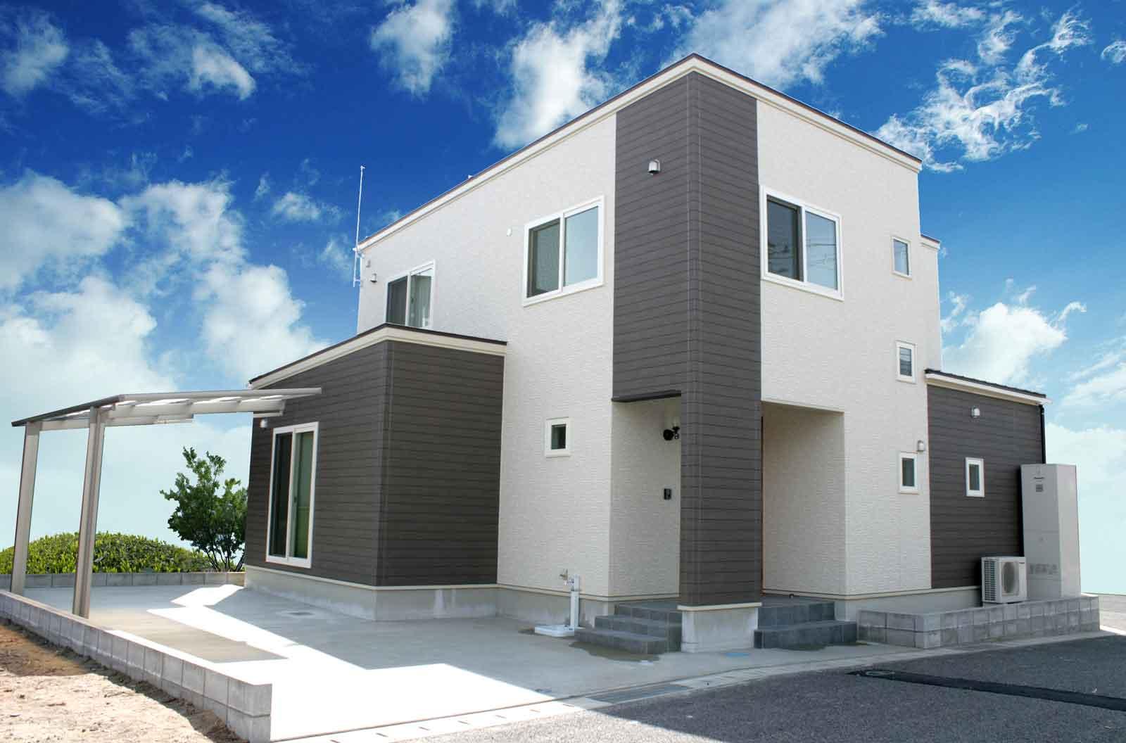 新潟市西区K様邸 住宅外観